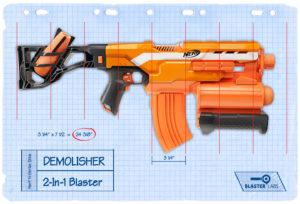 Demolisher Tech Chart | Nerf N-Strike Elite