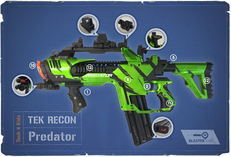 Predator | Tek Recon| Details
