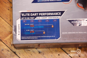 Elite Dart Performance Graphic