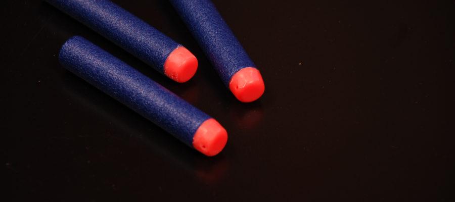 Nerf Demolisher dart damage