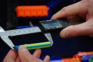 BOOMco Smart Stick Dart Being Measured