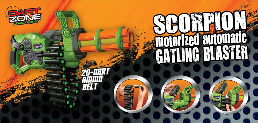 Dart Zone Covert Ops Scorpion - Header