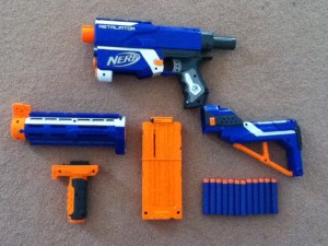 Everything the Retaliator comes with