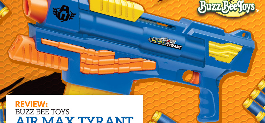 Air Max Tyrant - Buzz Bee Toys - Header