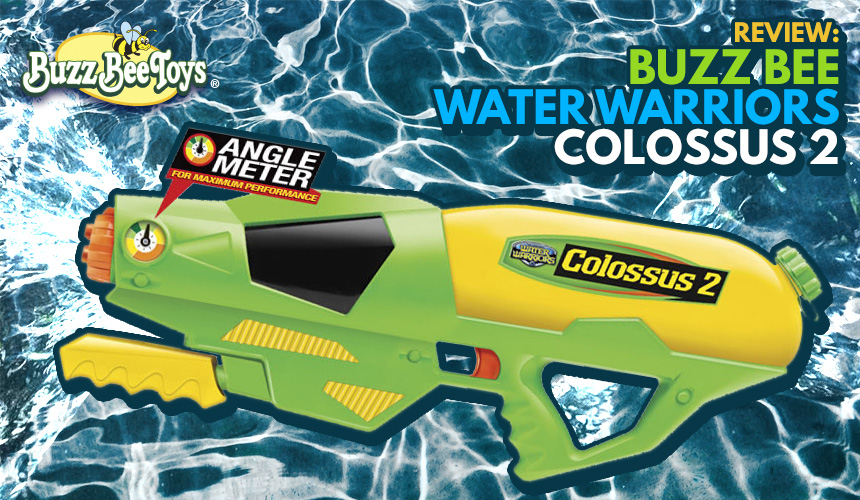 Colossus 2 - Water Warriors - Buzz Bee Review
