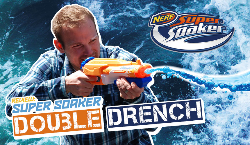 Duble Drench - Super Soaker - Nerf - Header