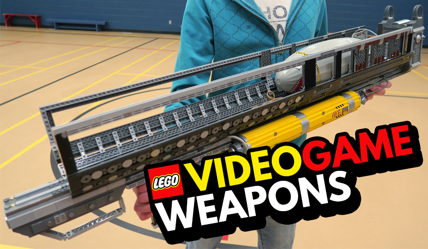 Lego Video Game Weapons - Header