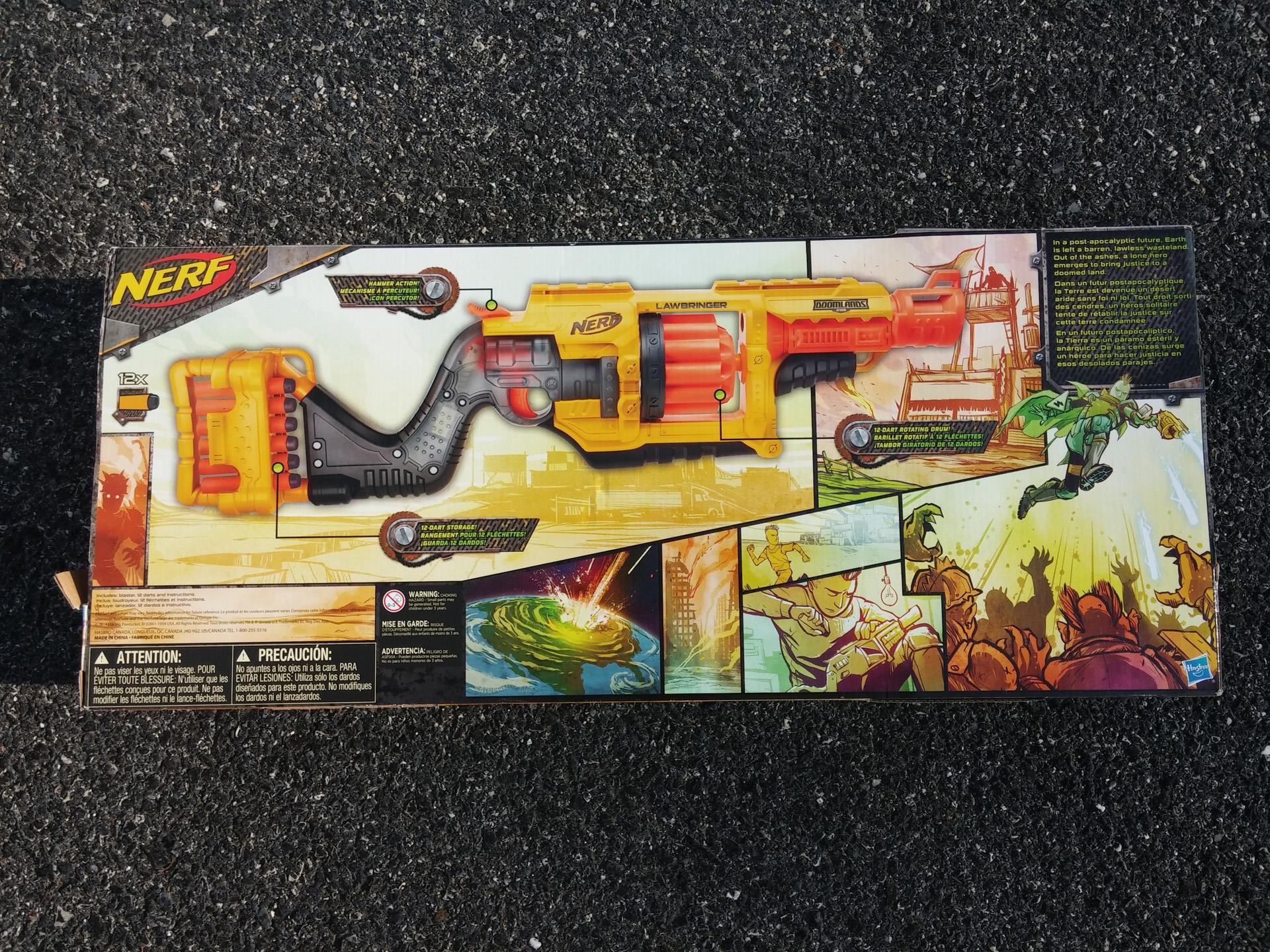 Nerf Doomlands Lawbringer - Design (2)
