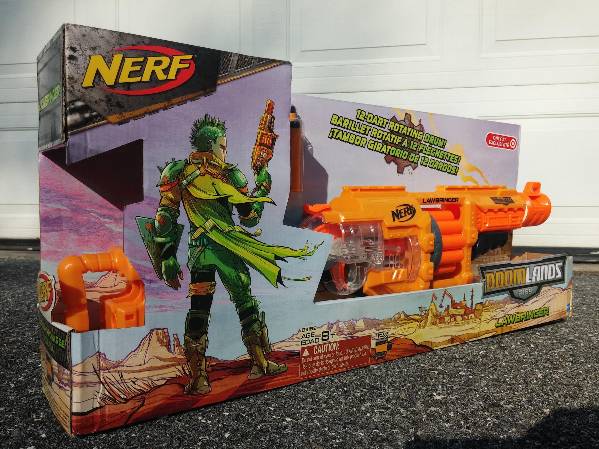 Nerf Doomlands Lawbringer - Design (3)