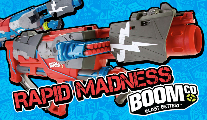 Rapid Madness - BOOMco - Header