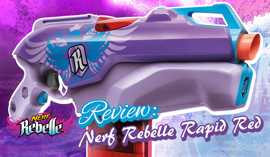 Rapid Red - Nerf Rebelle - Header