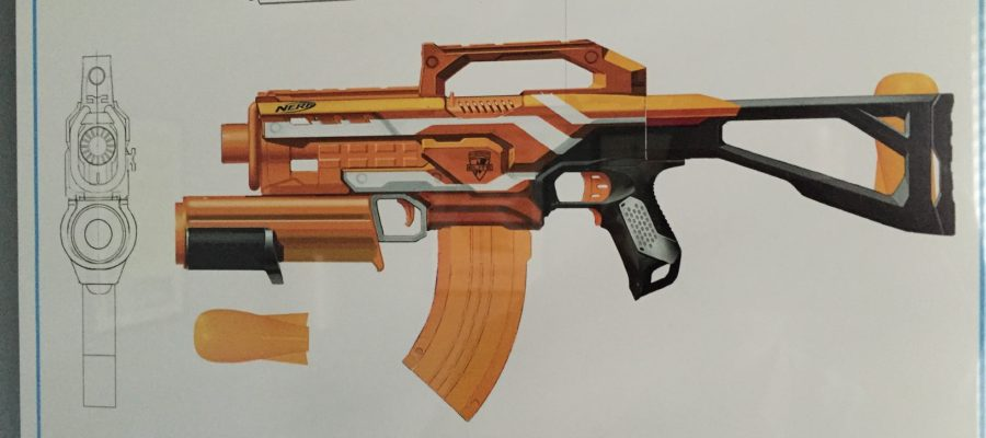 Nerf Demolisher Schematic