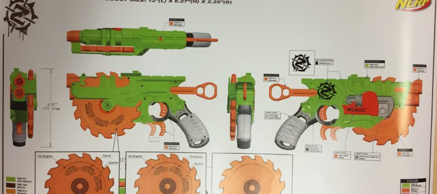 Nerf ZS Crosscut Rev2