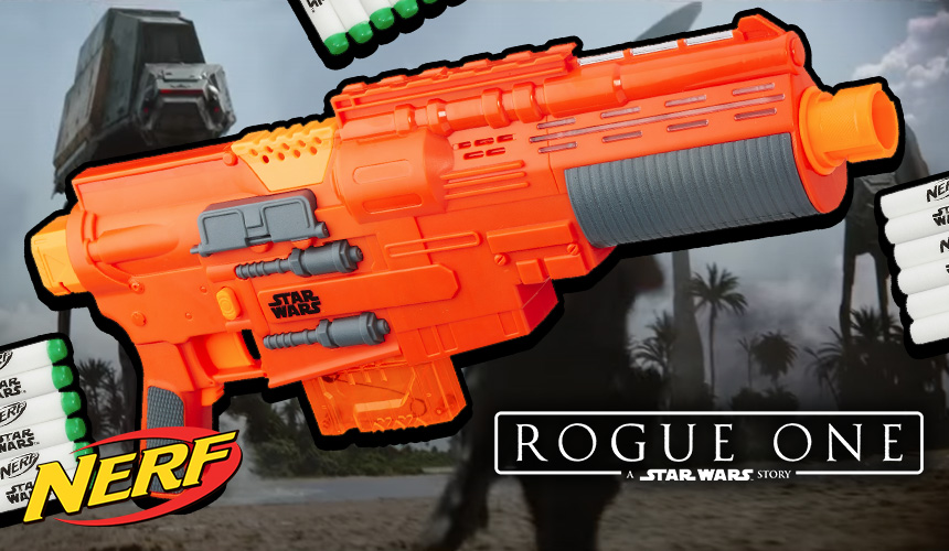 Star Wars Rouge One Nerf Blasters - Header