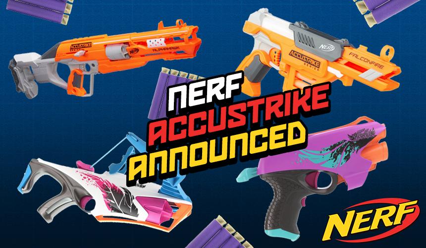 Nerf Accustrike Series Announced