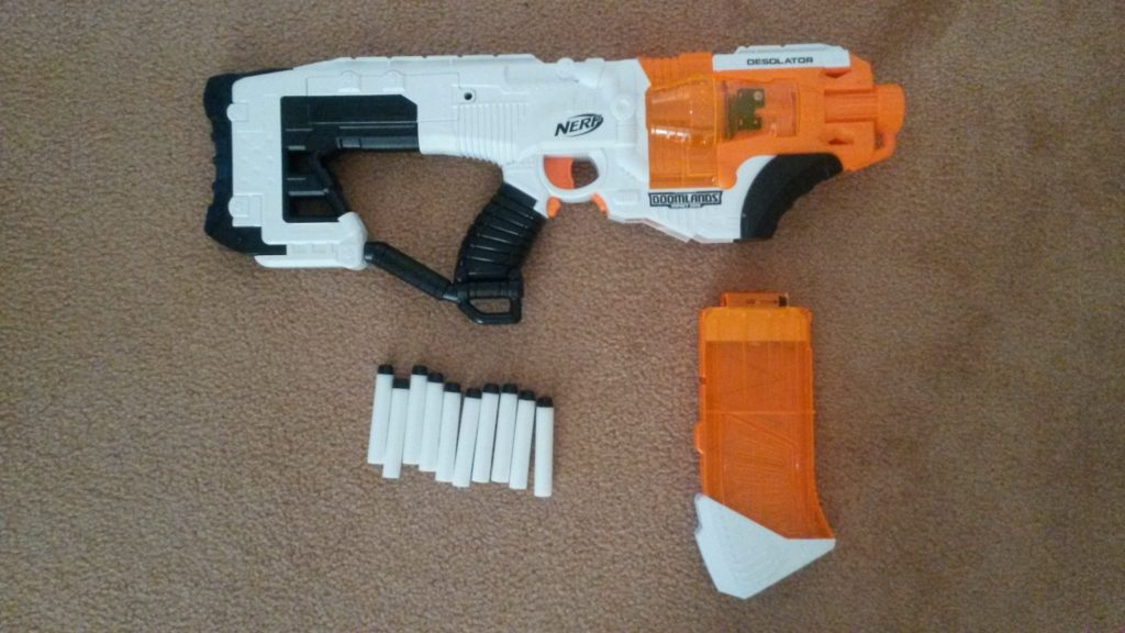 Everything included with the Desolator.