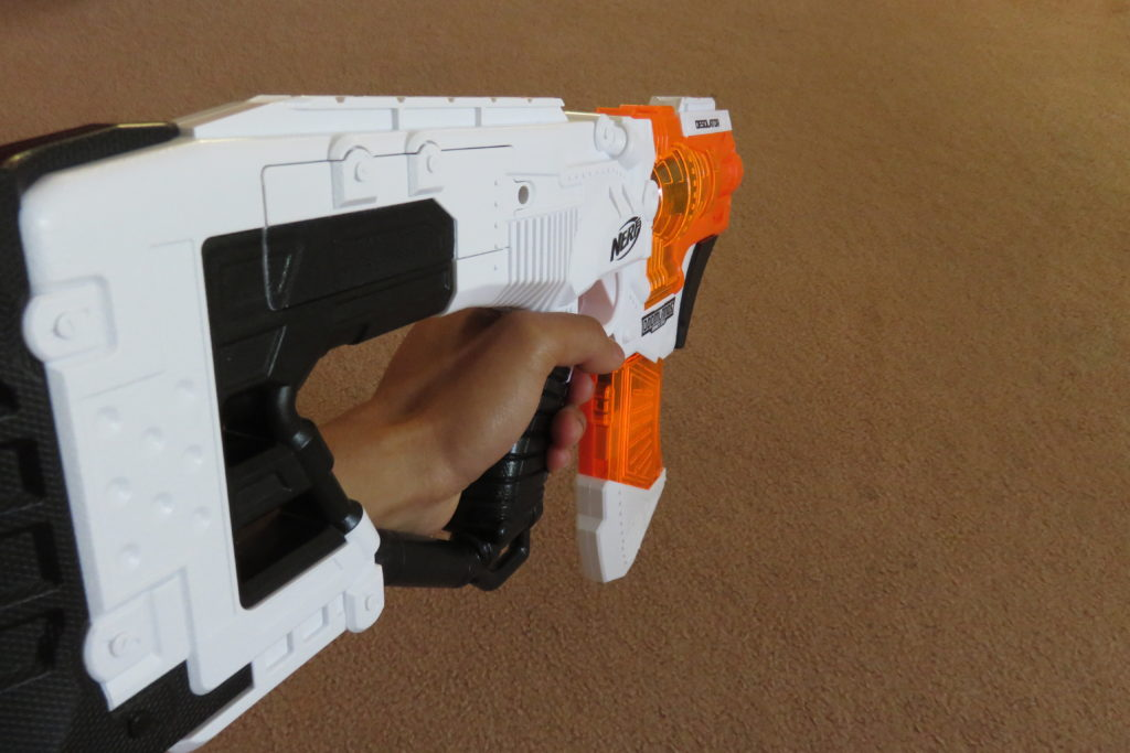 FPS shot of the Desolator.