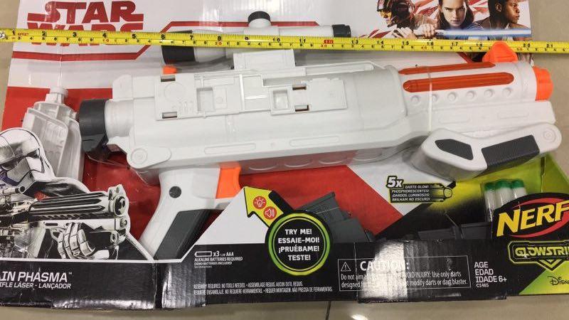 star wars captain phasma blaster box