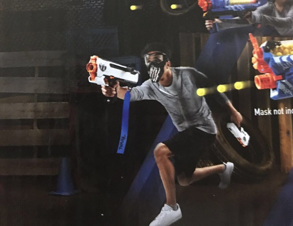 rival helios deadpool blaster 2