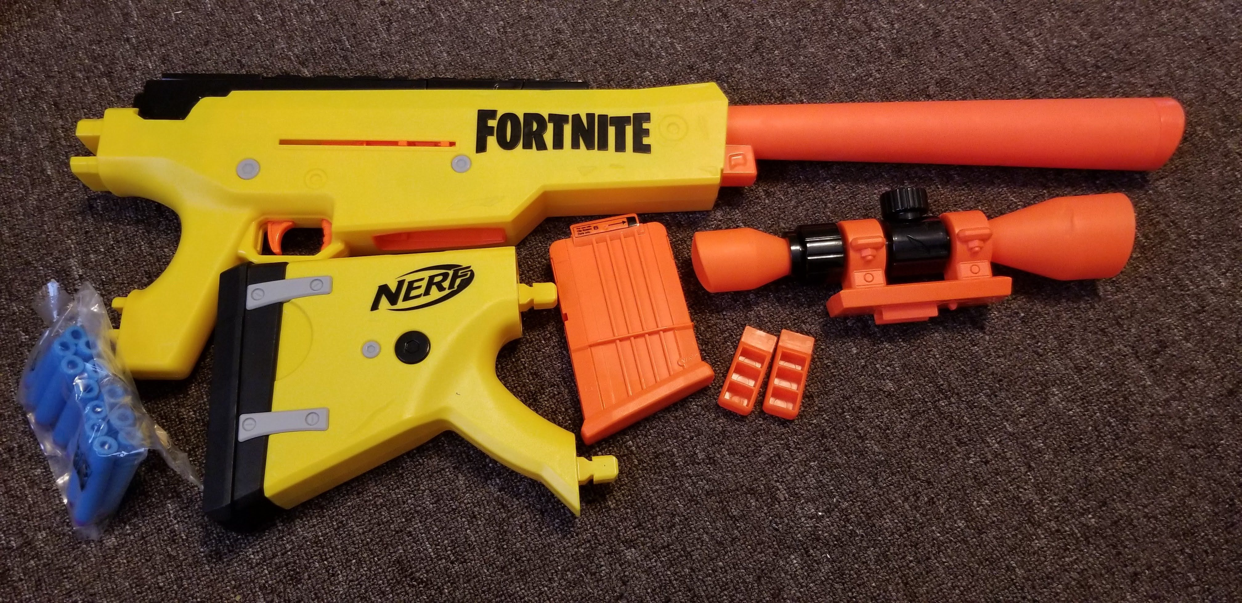 Nerf Fortnite Basr L Review Blaster Hub